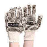 Polyco Firmadot PVC Dot Coated Knitted Work Glove White