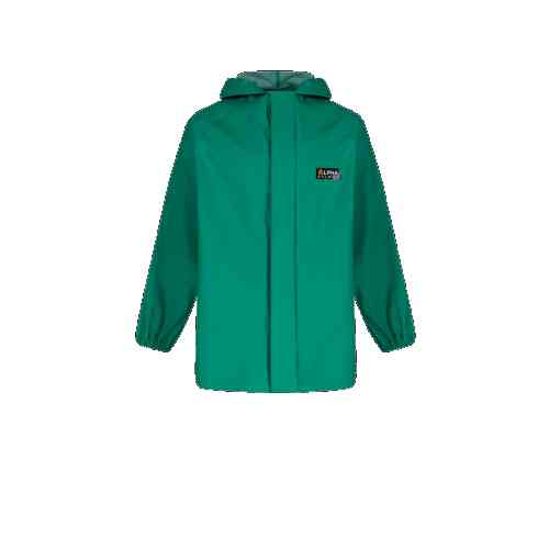 Alpha Solway CSJH-EW Chemsol Green Jackets with Hood