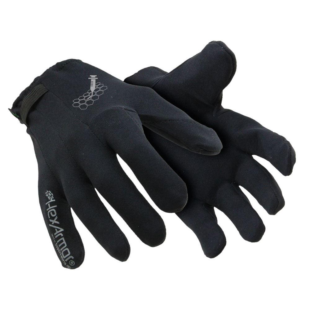 Polyco HexArmor Needlestick Resistant Underglove Pointguard X 6044 Black