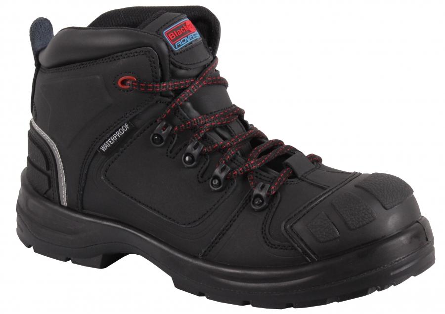Blackrock CF17 Olympus Waterproof Safety Boots Metal Free Black