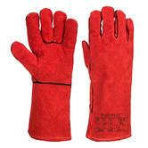 Portwest A505 Winter Welding Gauntlets Leather Fleece Lined Size XL
