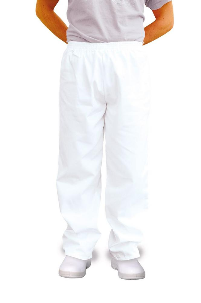Portwest Bakers Trousers 2208 Polycotton White Work Chefs Pant