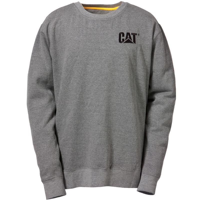 Caterpillar C1910752 Crew Neck Unisex Sweatshirt Grey