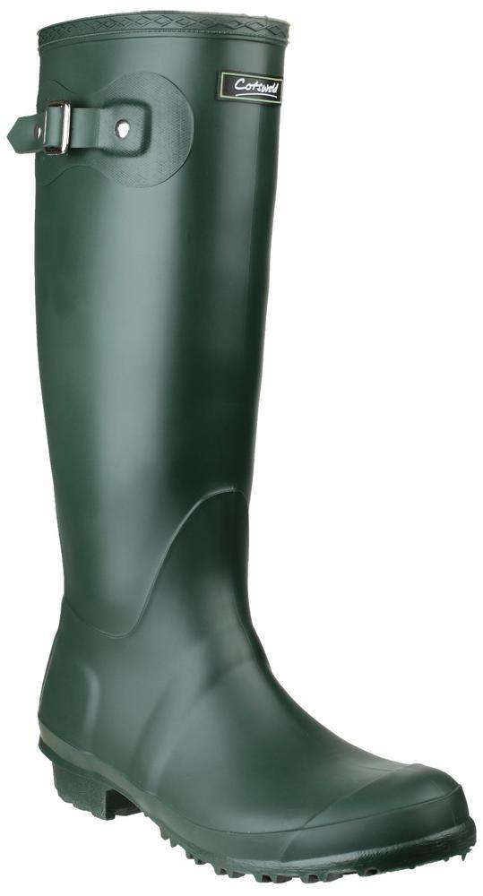 Cotswold Sandringham Non Slip Wellington Boots Green