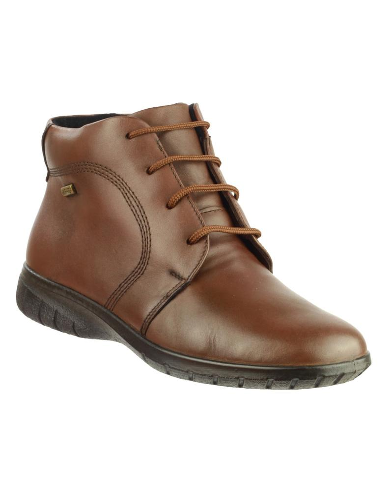 Cotswold Bibury Womens Ankle Boots Brown
