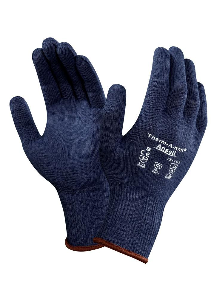 Ansell 78-101 Therm-A-Knit Nitrile Thermal Gloves
