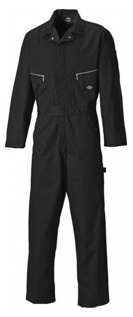 Dickies Deluxe Hammer Loop WD4879 Polycotton Coverall Black