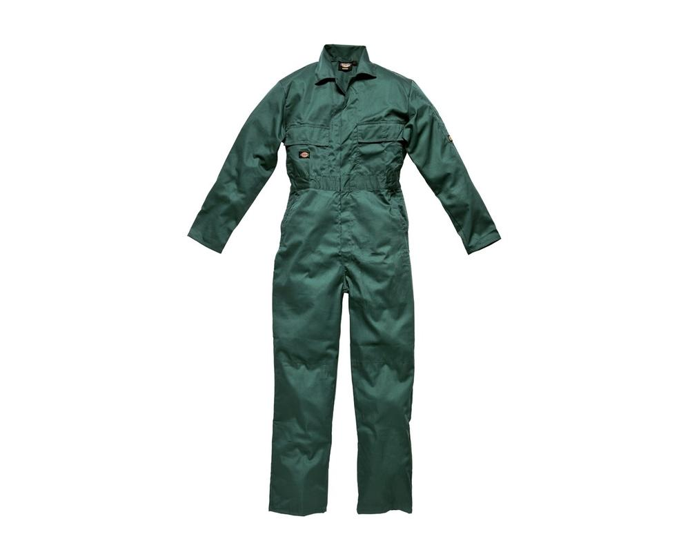 Dickies WD4819 Redhawk  Men Coverall Stud Front Green