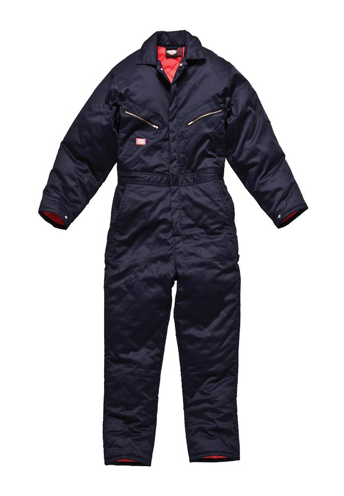 Dickies WD2360 Lined Coverall Cold Insulated Navy Size L
