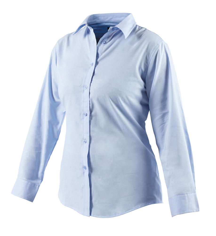 Dickies SH64300 Ladies Blouse Oxford Weave Long Sleeve