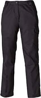 Dickies WD855 Redhawk Ladies Work Trousers Black