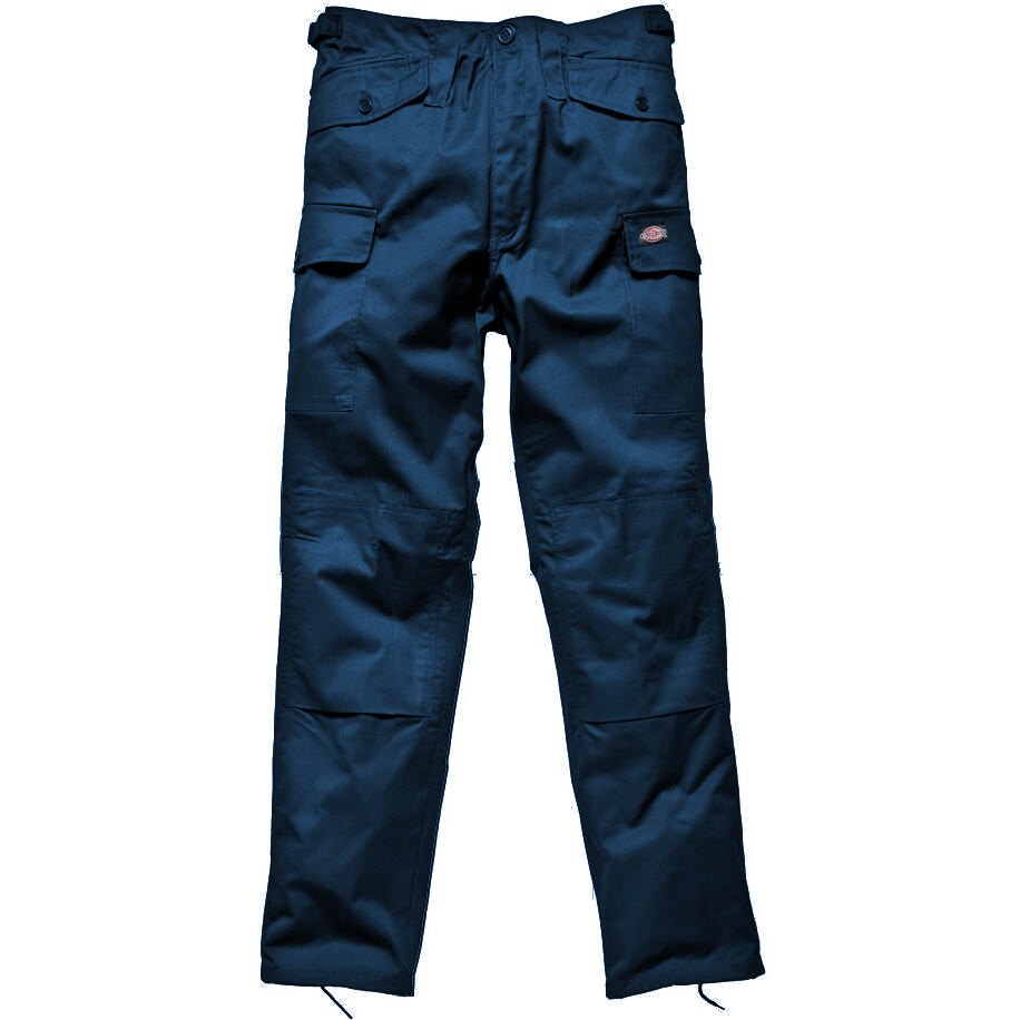 Dickies TR14400 Men Work Trousers Knee Pad Pouches Navy Size 32