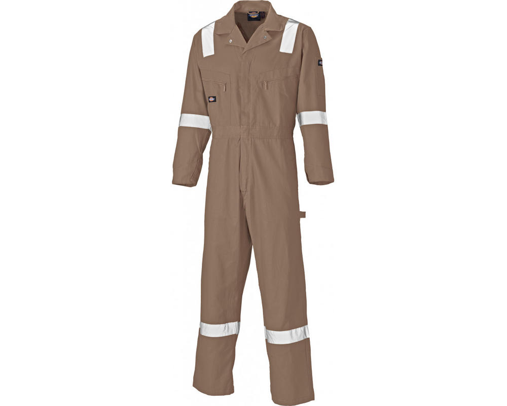 Dickies WD2279LW Lightweight Cotton Coverall with Reflective Bands