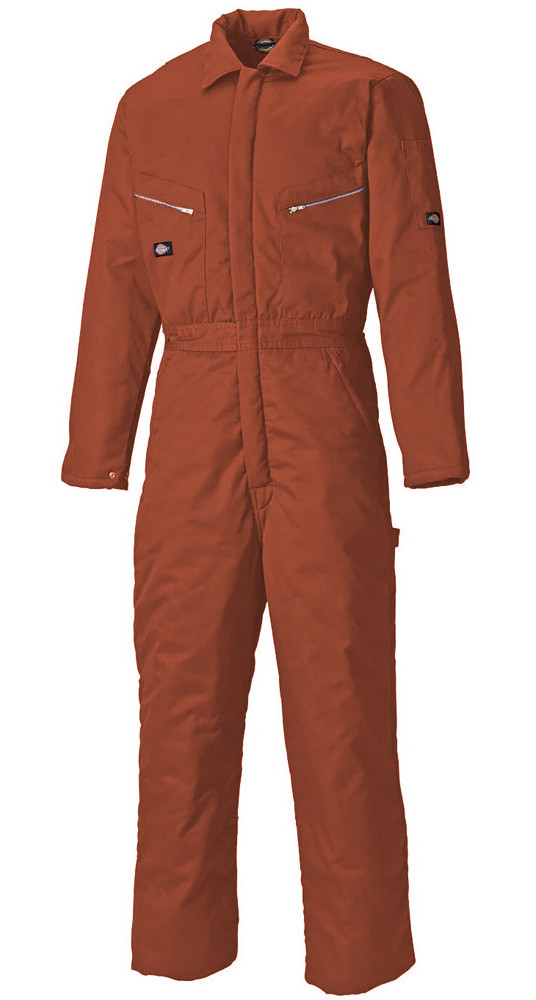 Dickies WD2360R Padded Coverall Cold Protection Red Size 2XL