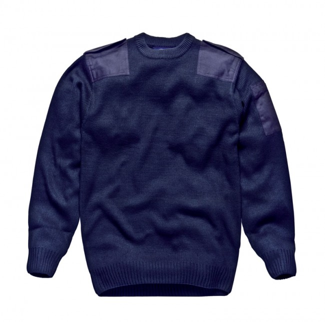 Dickies KN22100 Security Crew Neck Jumper Navy Size M