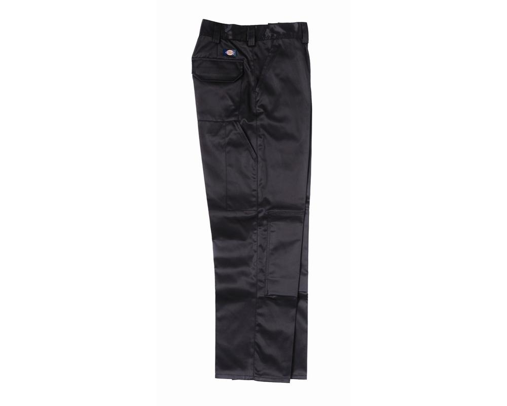 Dickies GR43110 Grafters Men Work Trousers Holster Pocket Black Size 32 Tall
