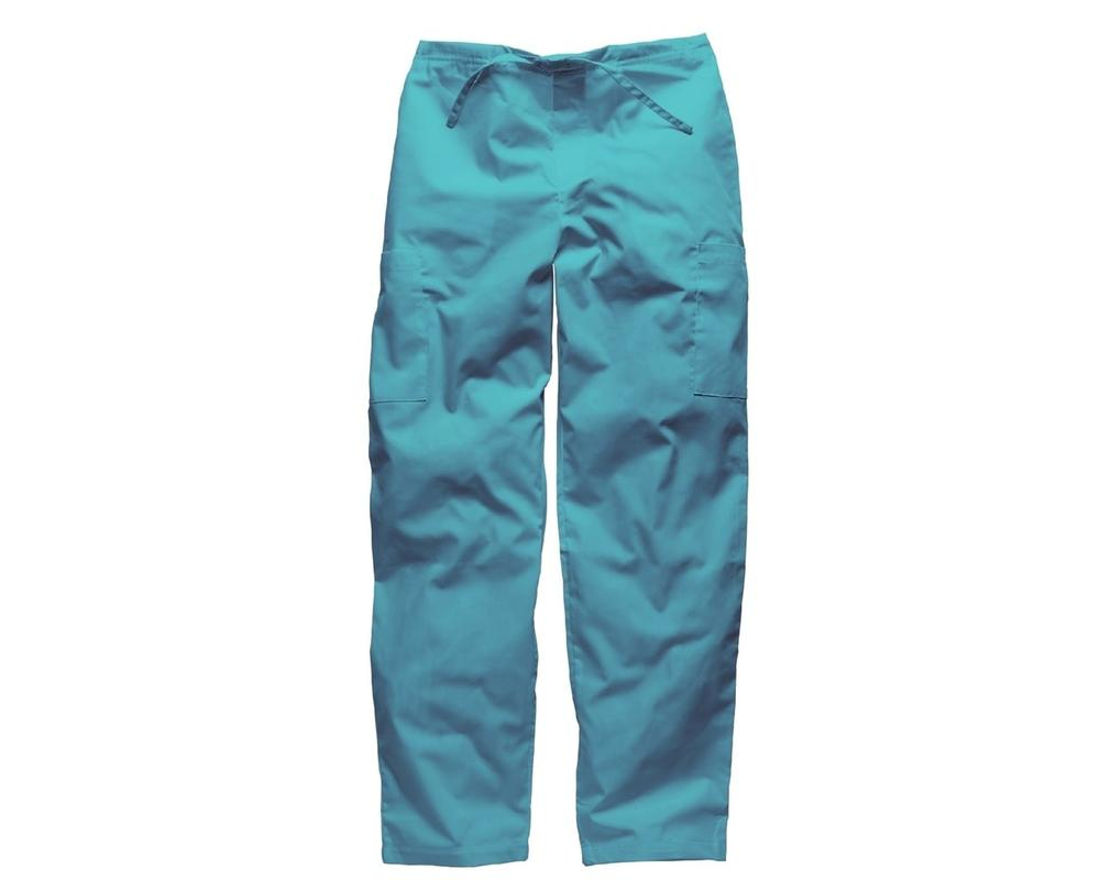 Dickies HC50601 Healthcare Tie Waist Trousers Turquoise Size M