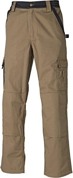 Dickies IN30030 Industry Two Tone Work Trousers Khaki/Black