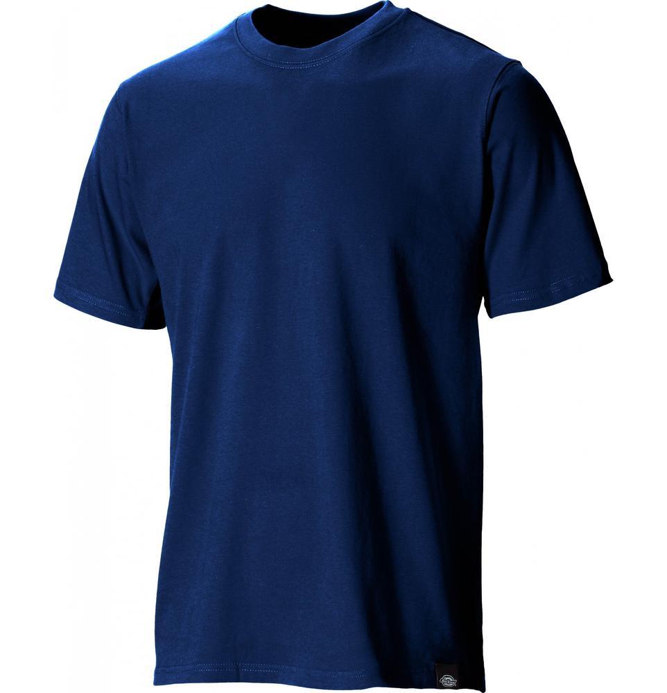 Dickies SH34225 Plain T-Shirt Crew Neck Short Sleeve Navy