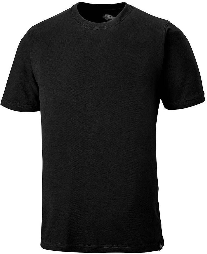 Dickies SH34225 Plain T-Shirt Crew Neck Short Sleeve Black