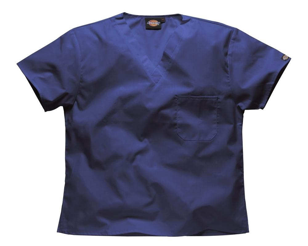 Dickies HC10106 Medical Scrubs Unisex V-Neck Tunic Polycotton