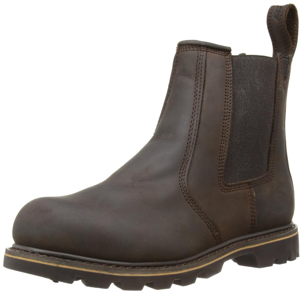 Dickies FD9214 Safety Dealer Boot Brown