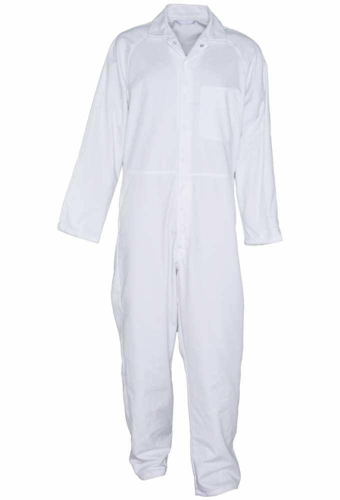 Dickies WD4809 Redhawk Food Industry Coverall White Size 44