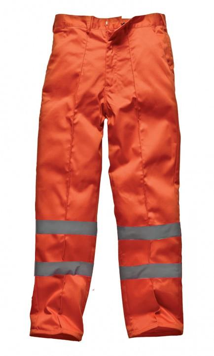 Dickies WD864A Redhawk Trousers Hi Vis Orange Size 36