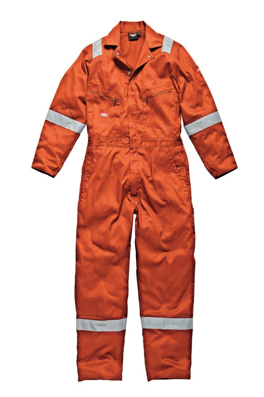 Dickies WD4899A Men Coverall Hi Vis Orange Size 46