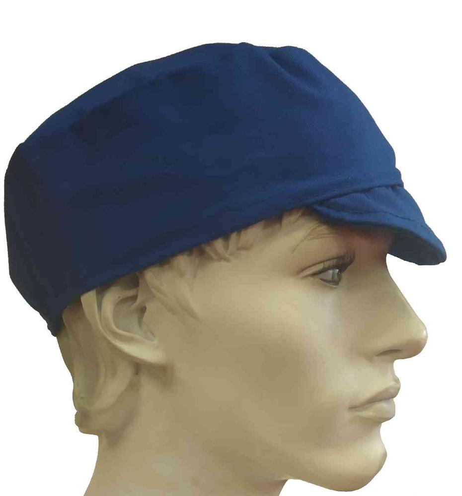Arvello Catering Skull Hat with Peak Royal Blue
