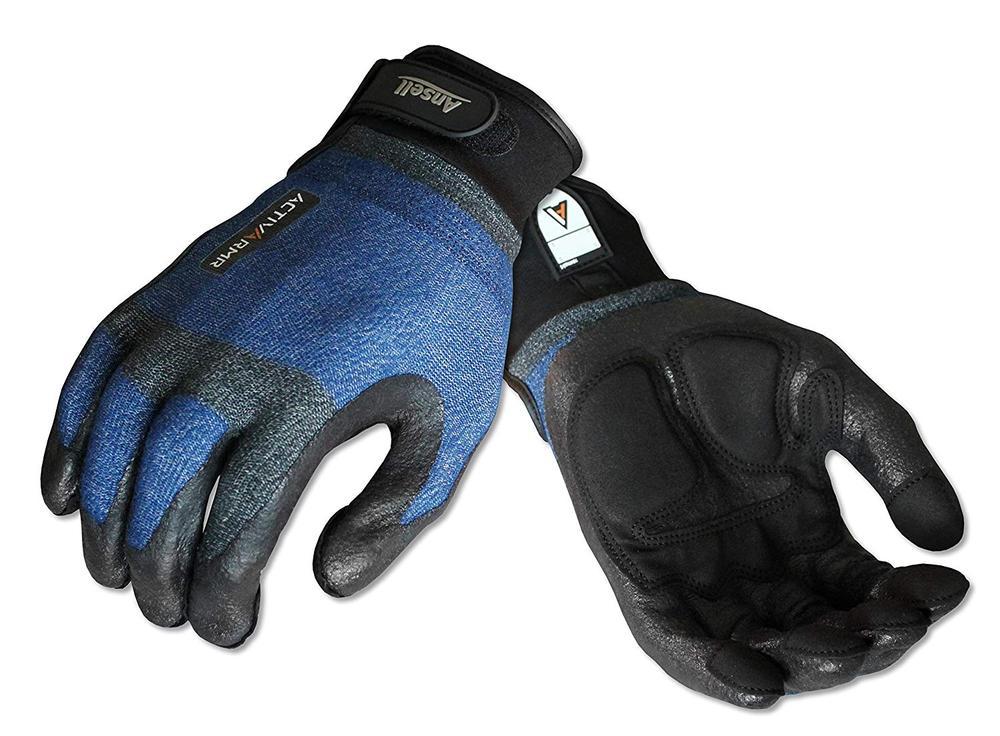 Ansell ActivArmr 97-005 Kevlar Plumber Men's Work Gloves