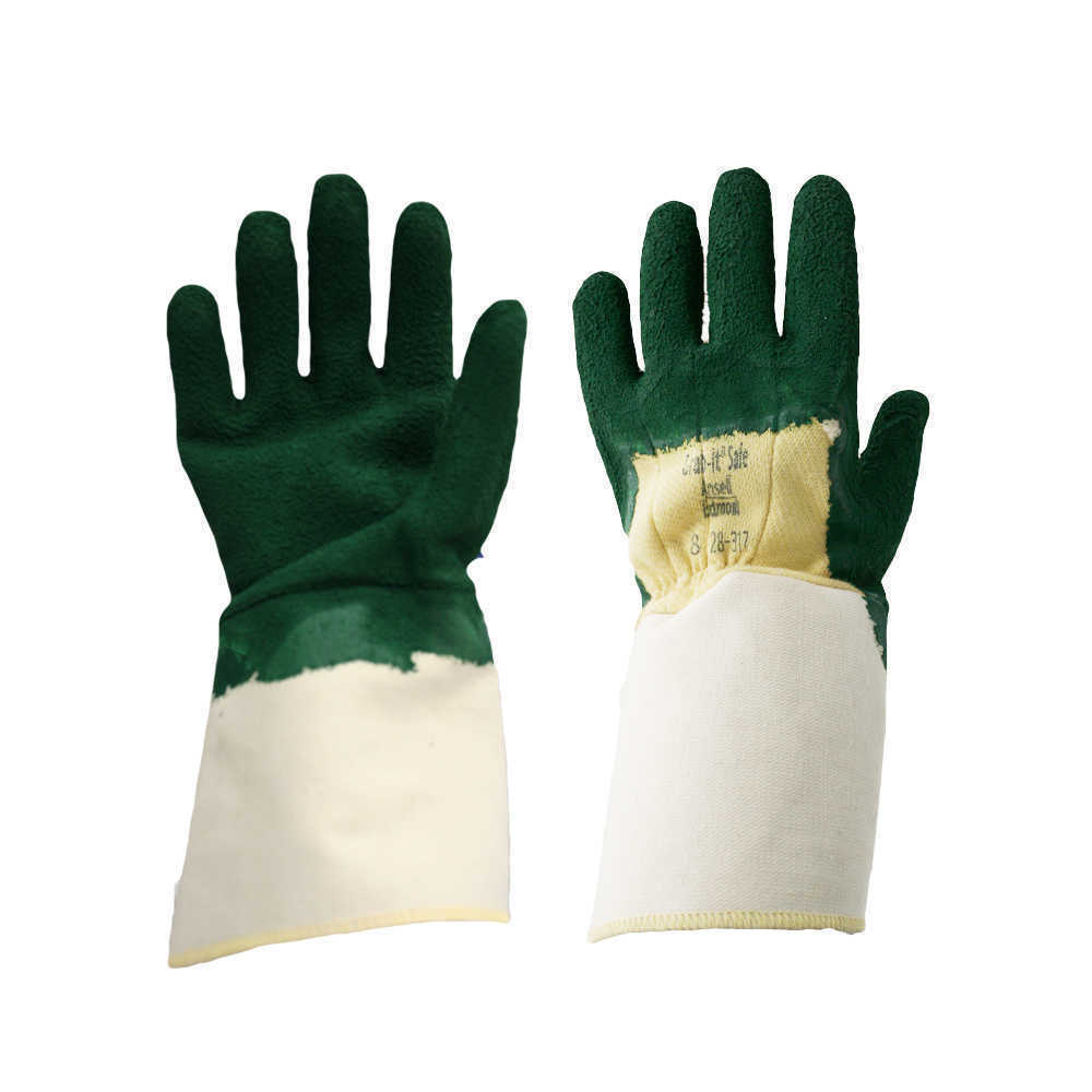 Ansell 28-317 Grab-it Work Gloves Heat and Cut 3 Resistant Size 9