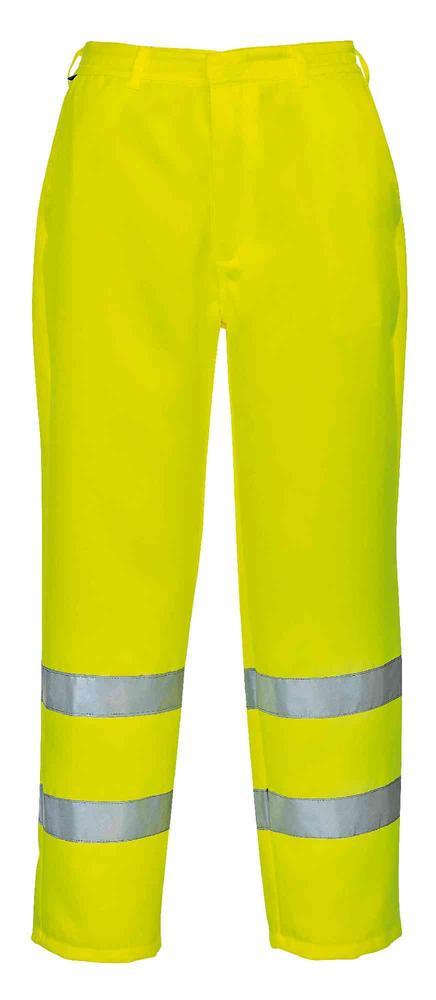Pro-Tough CPHVTPCY High Visibility Polycotton Trousers Yellow