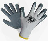 Optipro NBR-001 Unisex Work Gloves Nitrile Foam Palm Coating Hand Protection