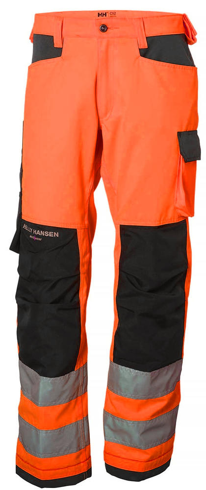 Helly Hansen 77411 Alna High Visibility Work Trousers Kneepad Pockets