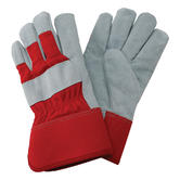 Ultimate Industrial UDPR-2 Safety Rigger Gloves Leather Palm Size 10