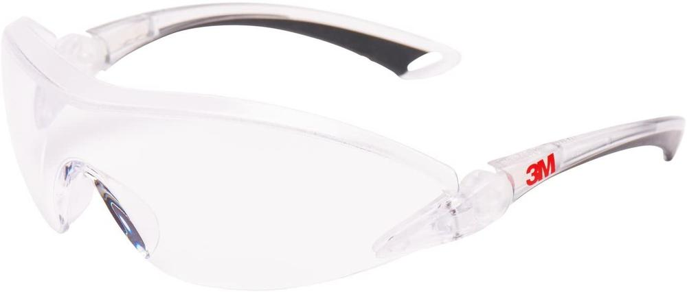 3M 2840 Unisex Safety Spectacles Polycarbonate Clear Lens