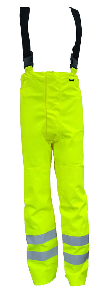 Arvello Gore-Tex Over Trousers With Braces Waterproof High Visibility Yellow