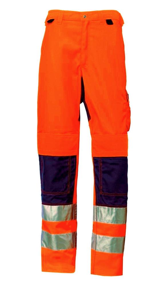 Helly Hansen 76490 Bridgewater Service Pants Hi Vis Orange/Navy