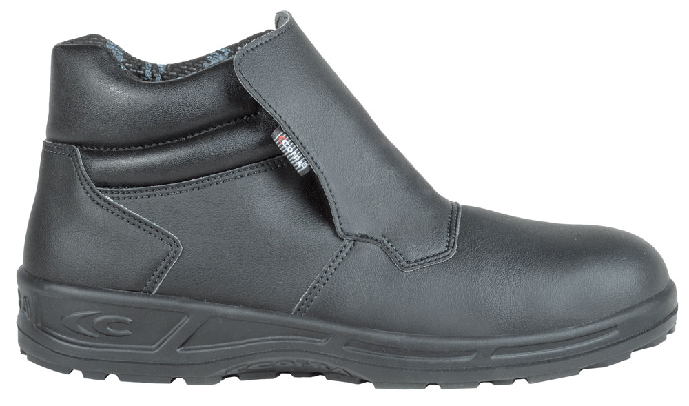 Cofra Lamar Black Safety Hygiene Boots Slip On Steel Toe Cap S2 SRC Machine Washable