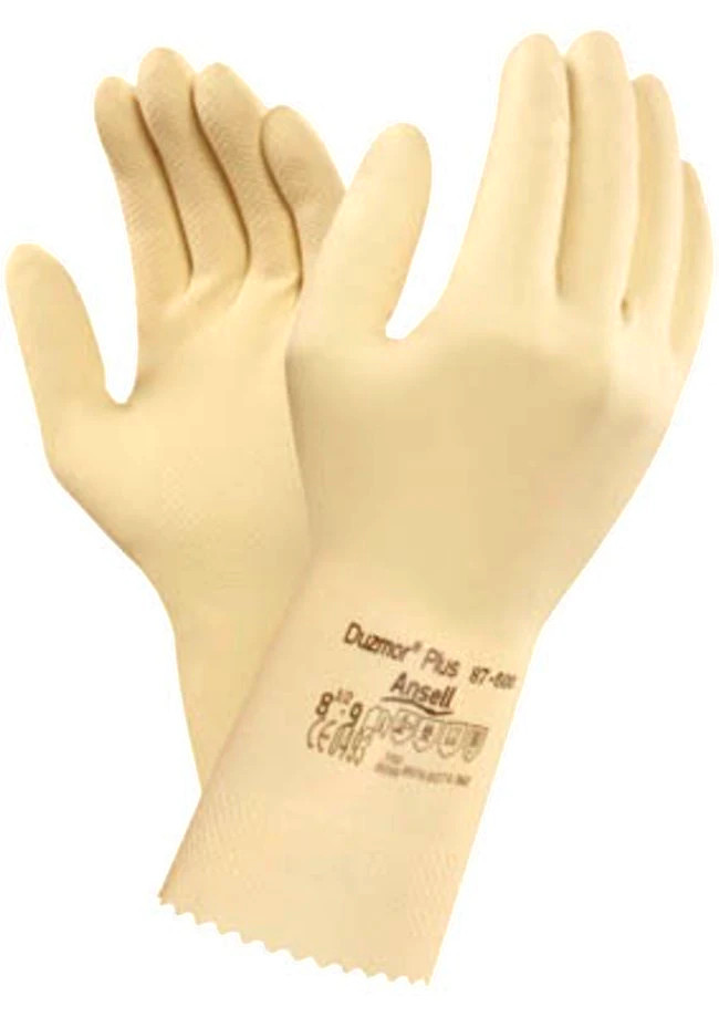 Ansell 87-600 Duzmor Plus Chemical Resistant Gauntlets