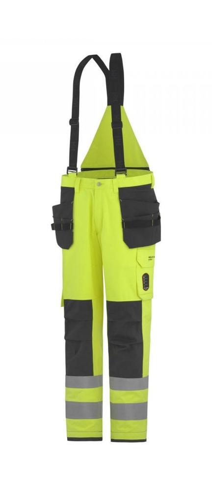 Helly Hansen 7184 Aberdeen Construction FR Brace Pants Waterproof Insulated Hi Vis Yellow