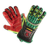 Roots RO50500 On Impact Rigger Gloves Keprotec Palm Size L