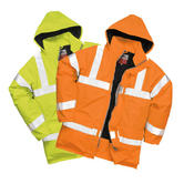 Portwest S778 Bizflame Hi-Vis FR Waterproof Breathable Antistatic Flame Retardant Jacket