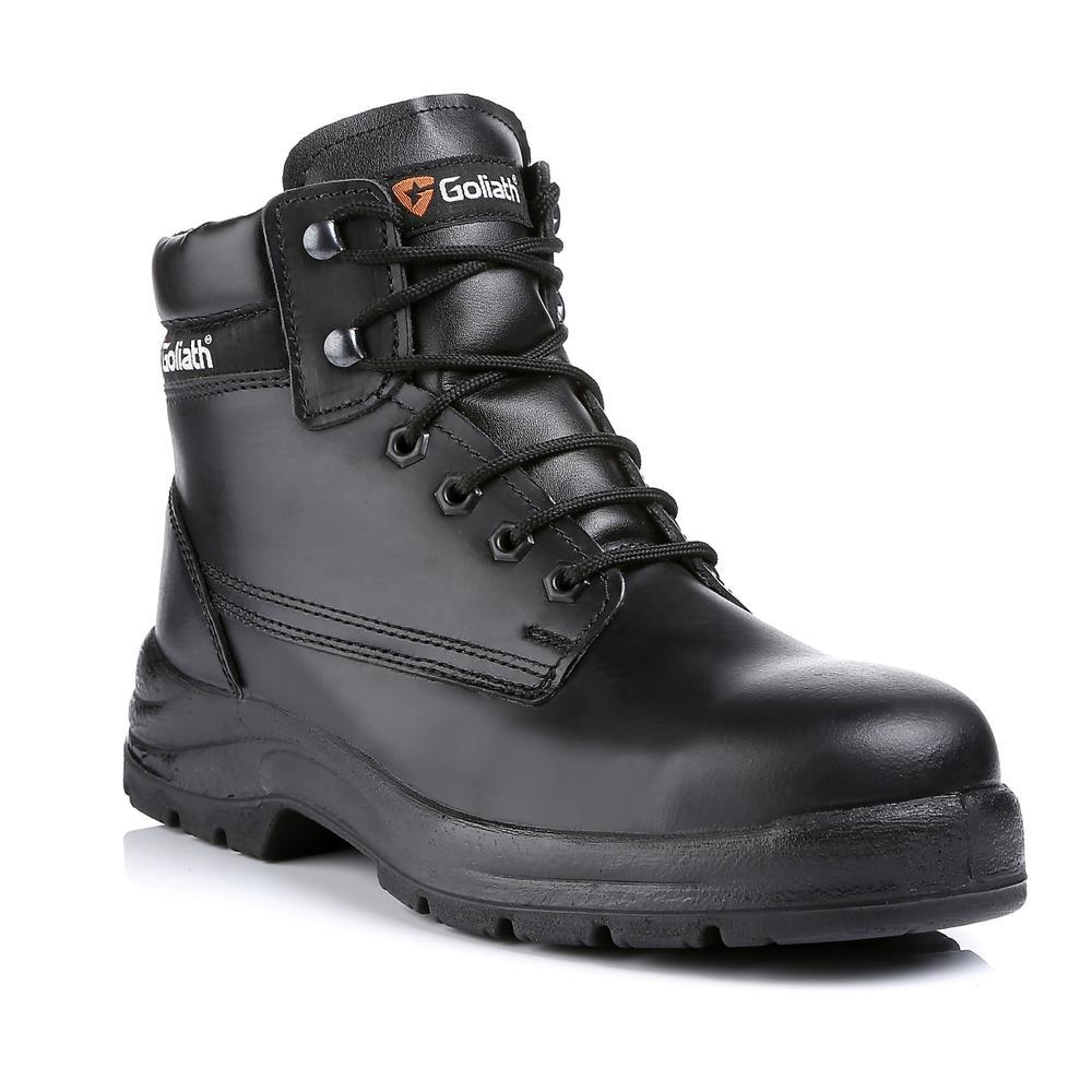 Goliath Bristol Steel Toe Cap S3 SRA Black Safety Chukka Boots