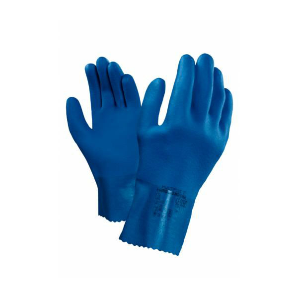 Ansell MultiPlus 27 PVC Safety Gloves Chemical & Liquid Protection