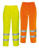 Portwest Hi-Vis Poly-cotton Trousers E041 Yellow - Orange
