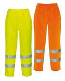Portwest Hi-Vis Poly-cotton Trousers E041 Yellow - Orange