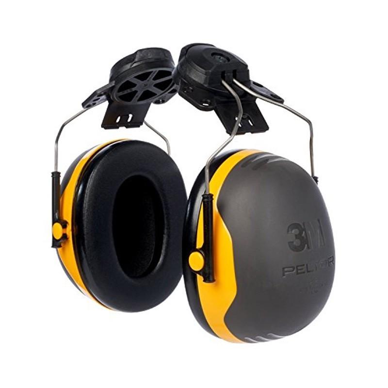 3M Peltor X2P3 Earmuffs Helmet Mounted SNR=30dB Yellow