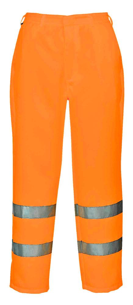 Pro-Tough CPHVTPCO High Visibility Polycotton Trousers Orange